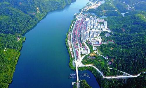 这样看更美!石泉将引进热气球让爱好者飞越秦岭俯瞰汉江古城