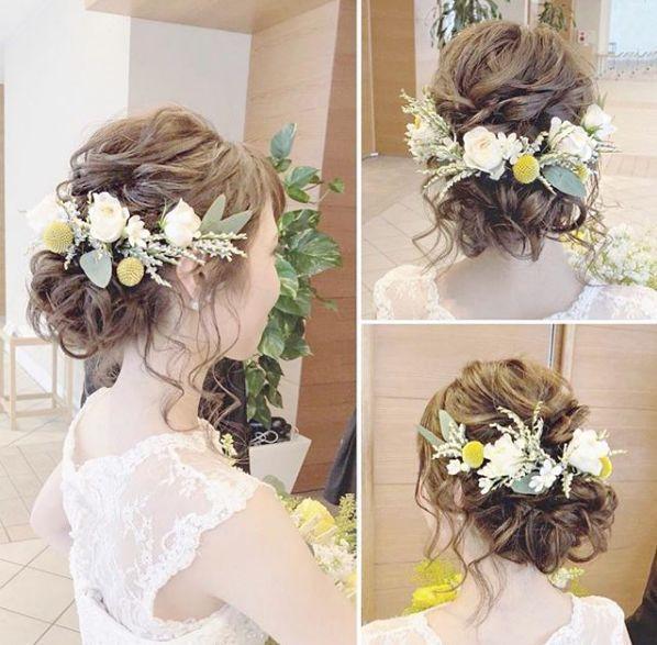 这么美的鲜花新娘造型,你还能不心动?