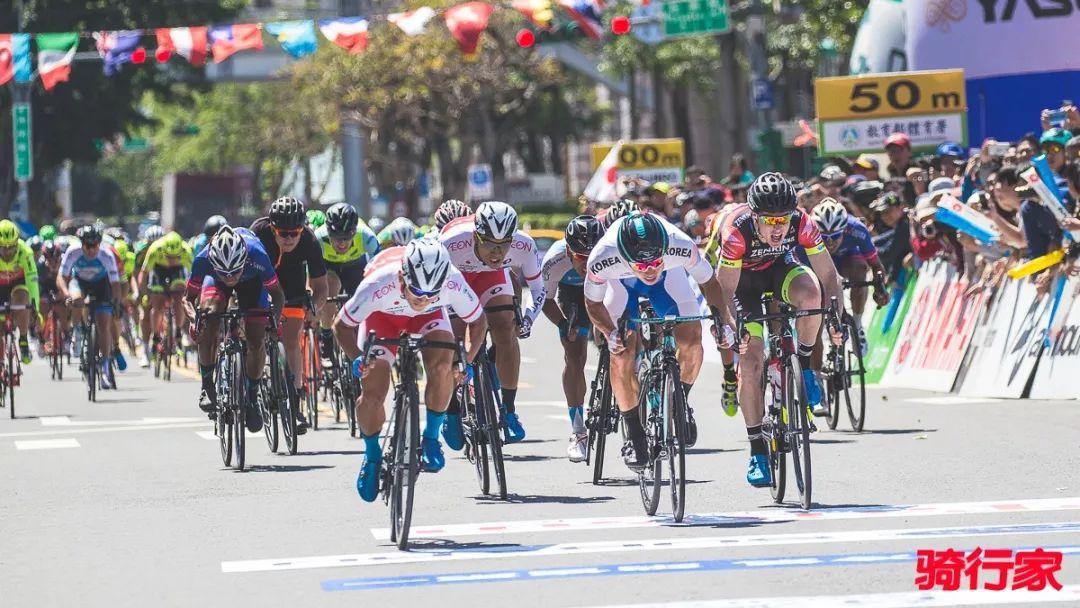 环台湾第一站日本队首胜包揽四色领骑衫