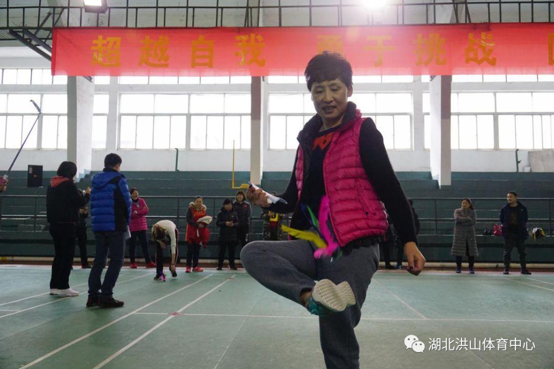 """洪山体育中心开展庆""""三八""""趣味健身活动"""
