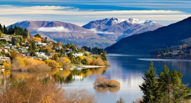新西兰:阳春三月赏秋景,错过就要再等一年啦!图片