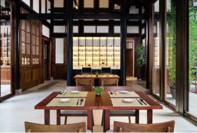 博舍谧寻茶室及水疗优雅回归全新的谧寻为全新的你