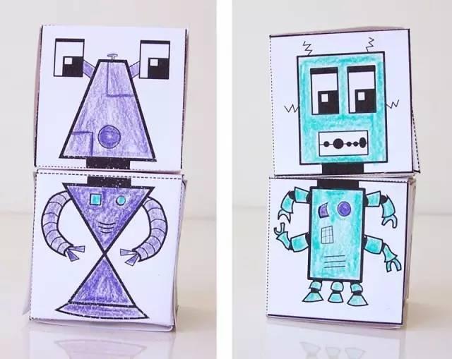 立方体平面图 手工