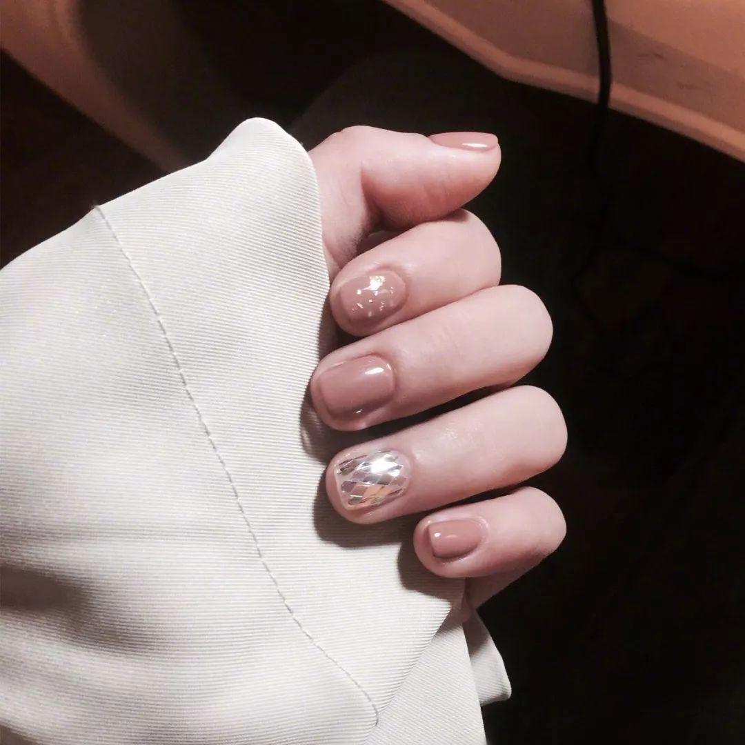 短指甲新款美甲,太好看了!