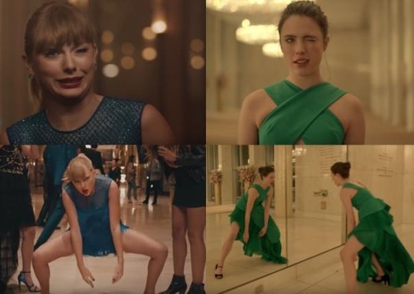泰勒斯威夫特新歌《Delicate》MV被曝抄袭 霉霉新mv撞脸香水广告