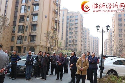 郯城县高峰头镇到先进地区学习社区建设