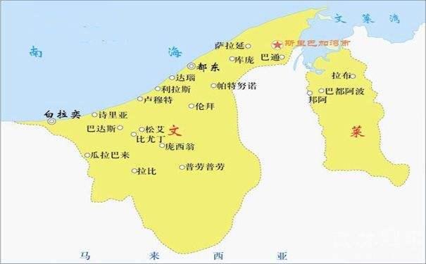 文莱gdp_文莱地图