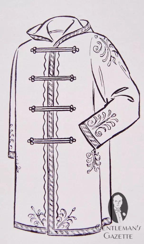 陆军元帅marshal montgomery(伯纳德·劳·蒙哥马利)频繁的穿着此外套,   1887年,英国裁缝
