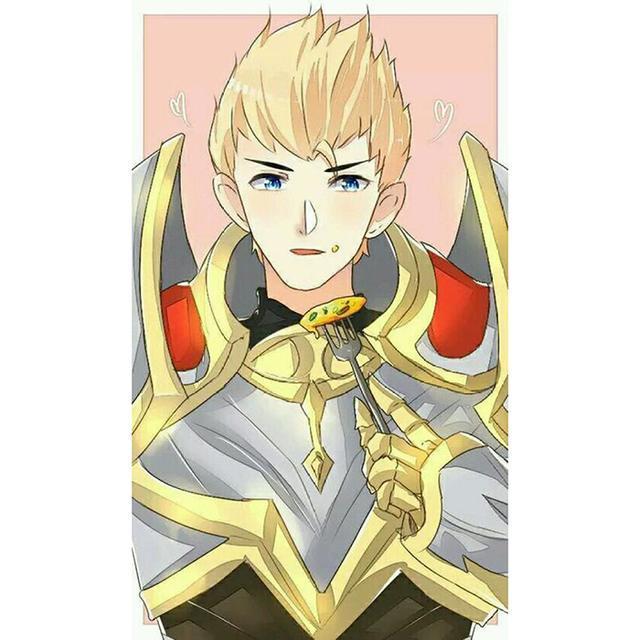 王者荣耀情侣头像:安琪拉亚瑟头像