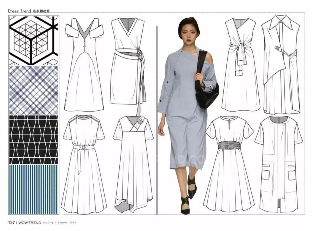 画好服装款式图的方法!(内含视频电脑绘制教程)