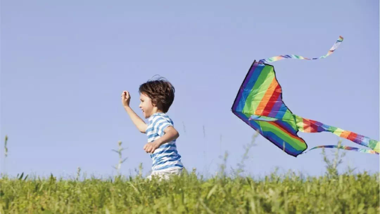赴一场春天的约会,手绘风筝,体味快乐 风筝 diy 描绘春天 相信每个