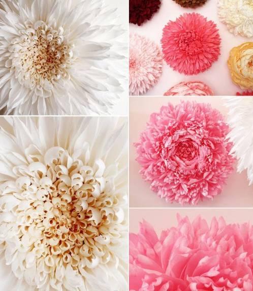 母婴 正文  皱纹纸手工制作大花朵 美丽又逼真的皱纹纸大花,有兴趣也