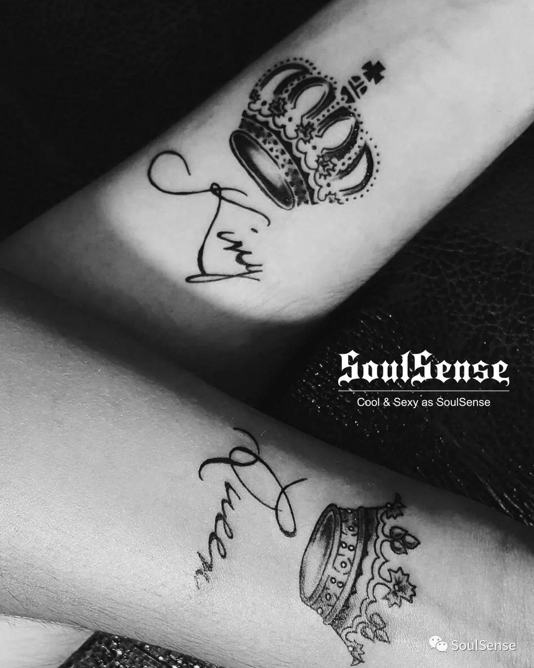 soulsense 纹身 | 皇冠纹身,王的象征