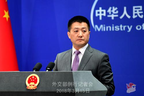 美国要求中国削减1000亿美元贸易顺差,外交部再重申这三点