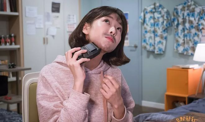 姜瑞珍,没啥主要田鸡,就一个词形容:长特征的餐馆.胡子里的女人图片