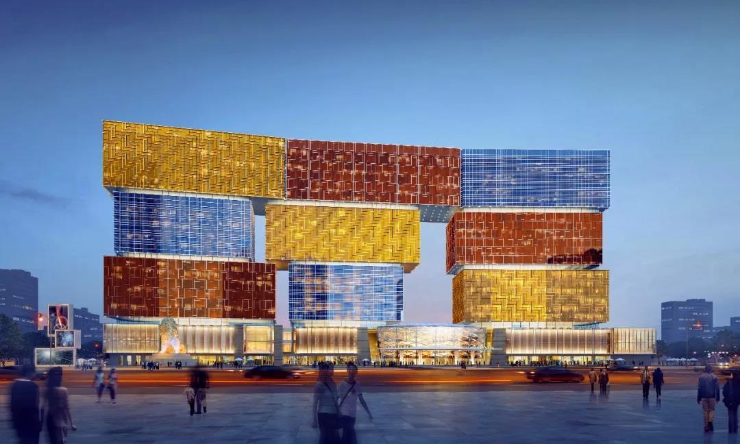 全球最大的娱乐mall_长春复华未来世界图片