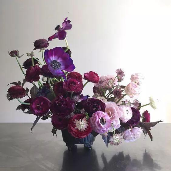 Ultra Violet,2018年花艺灵感