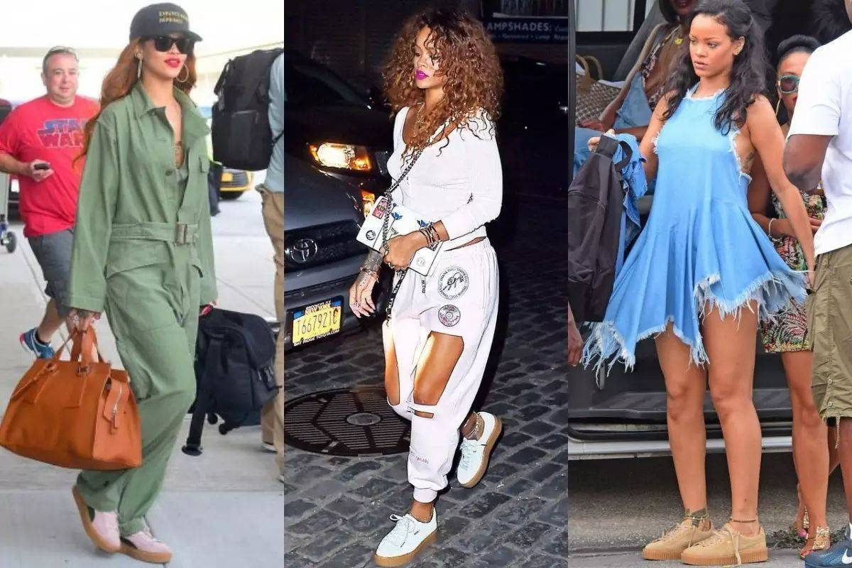 还记得前年puma蕾哈娜 一鞋难求的时候吗