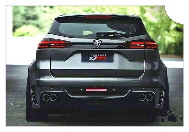 汽车 正文  宝腾x7和博越表现出极高的相似性,实际上该车就是基于博越