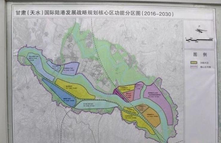 台山北新区规划图