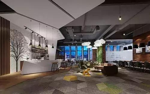 腾讯,阿里巴巴,微软…别人家的办公室都是怎么设计的?图片