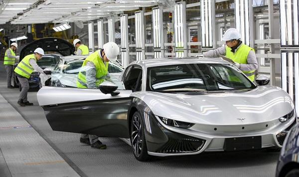 前途汽车将获纯电动车生产资质 首款车型K50今年量产