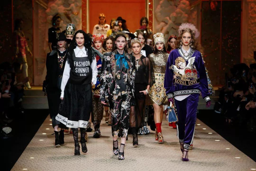 多尔切&。时尚奉献向时尚致敬