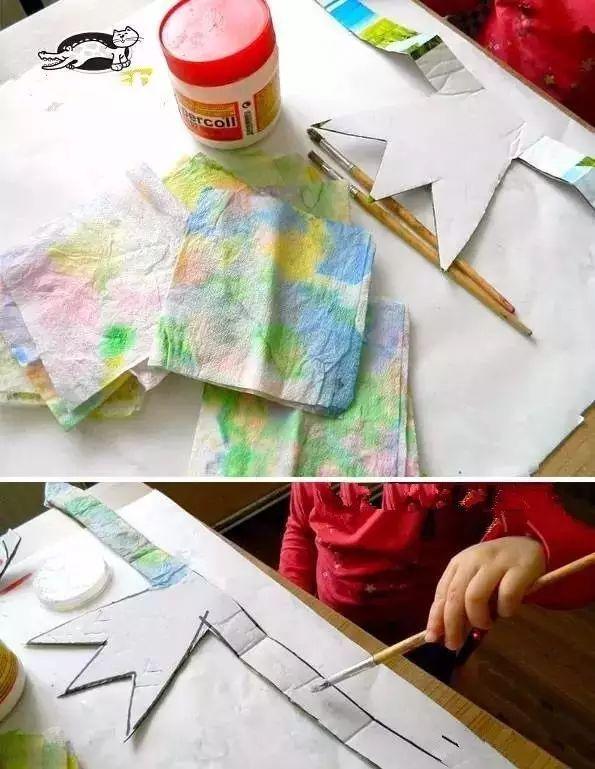 【手工环创】n款幼儿园夏天卡纸手工制作,主题环创全都有!