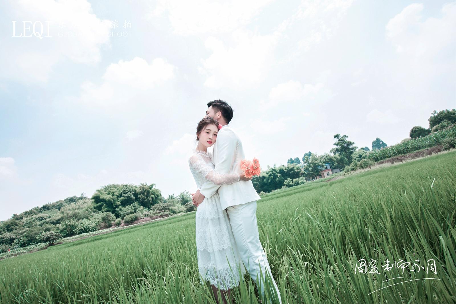 【晒一晒】2018年我的森系婚纱照.图片