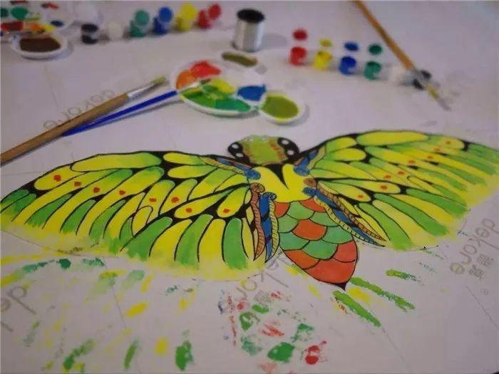 風箏彩繪 diy圖片