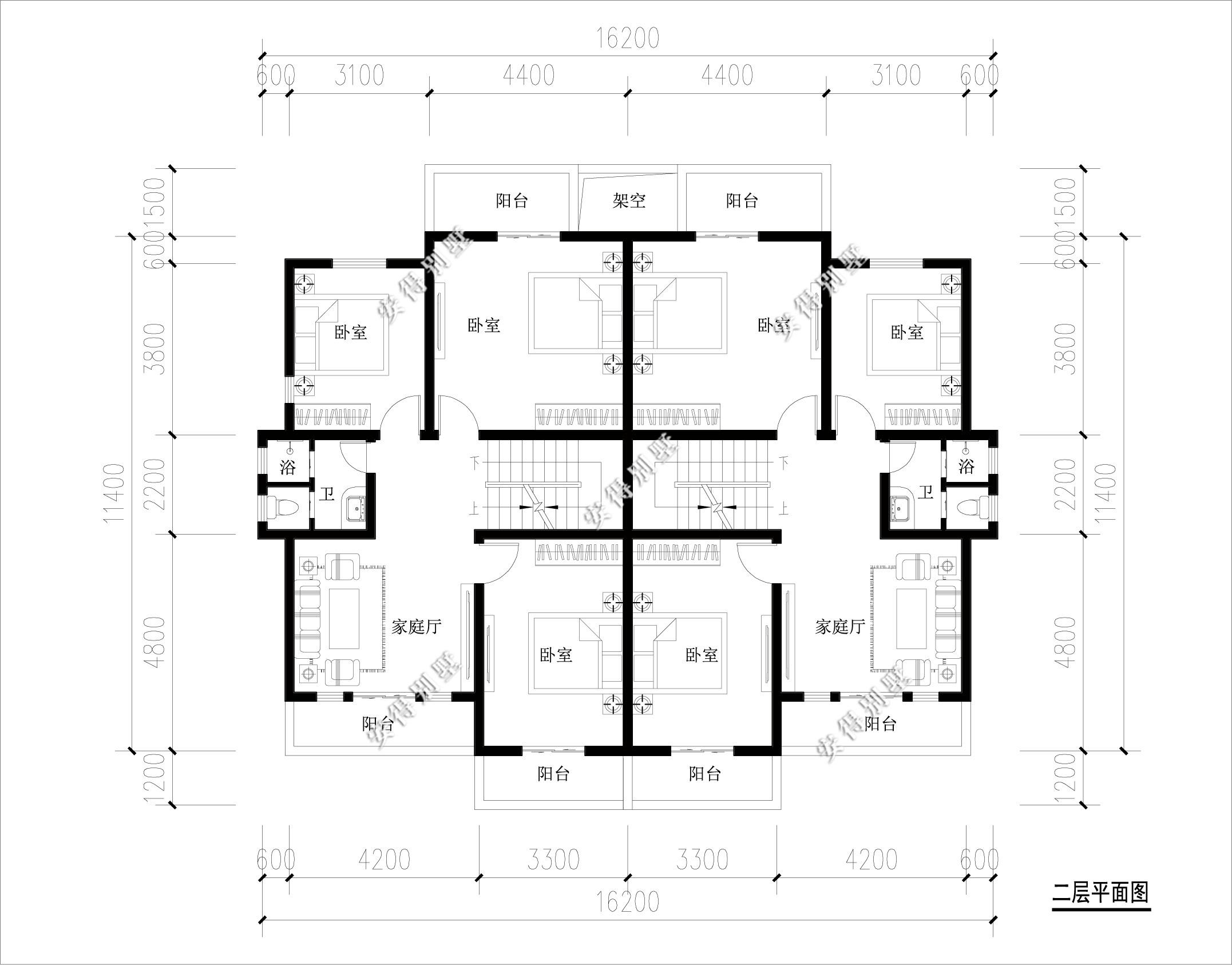 10x11米自建套房图纸