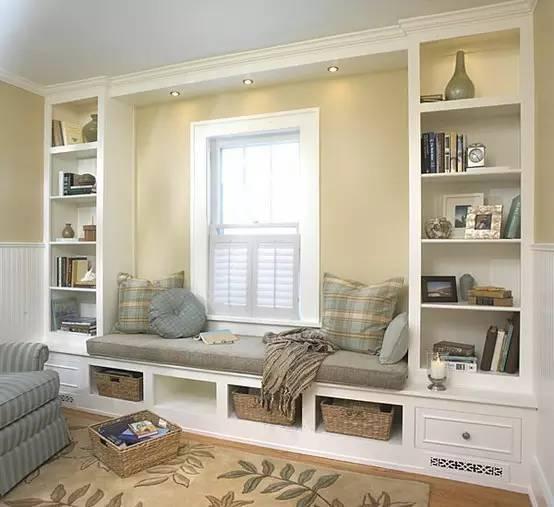 芜湖润津花园装修卧室一定要做个飘窗,实用又好看!