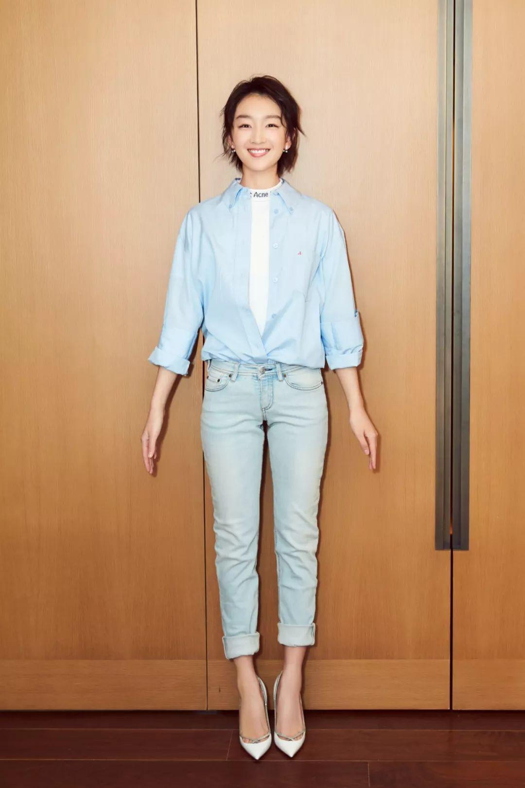 买不起佟丽娅的4000块衬衫,张俪这件399元Zara不了解一下?