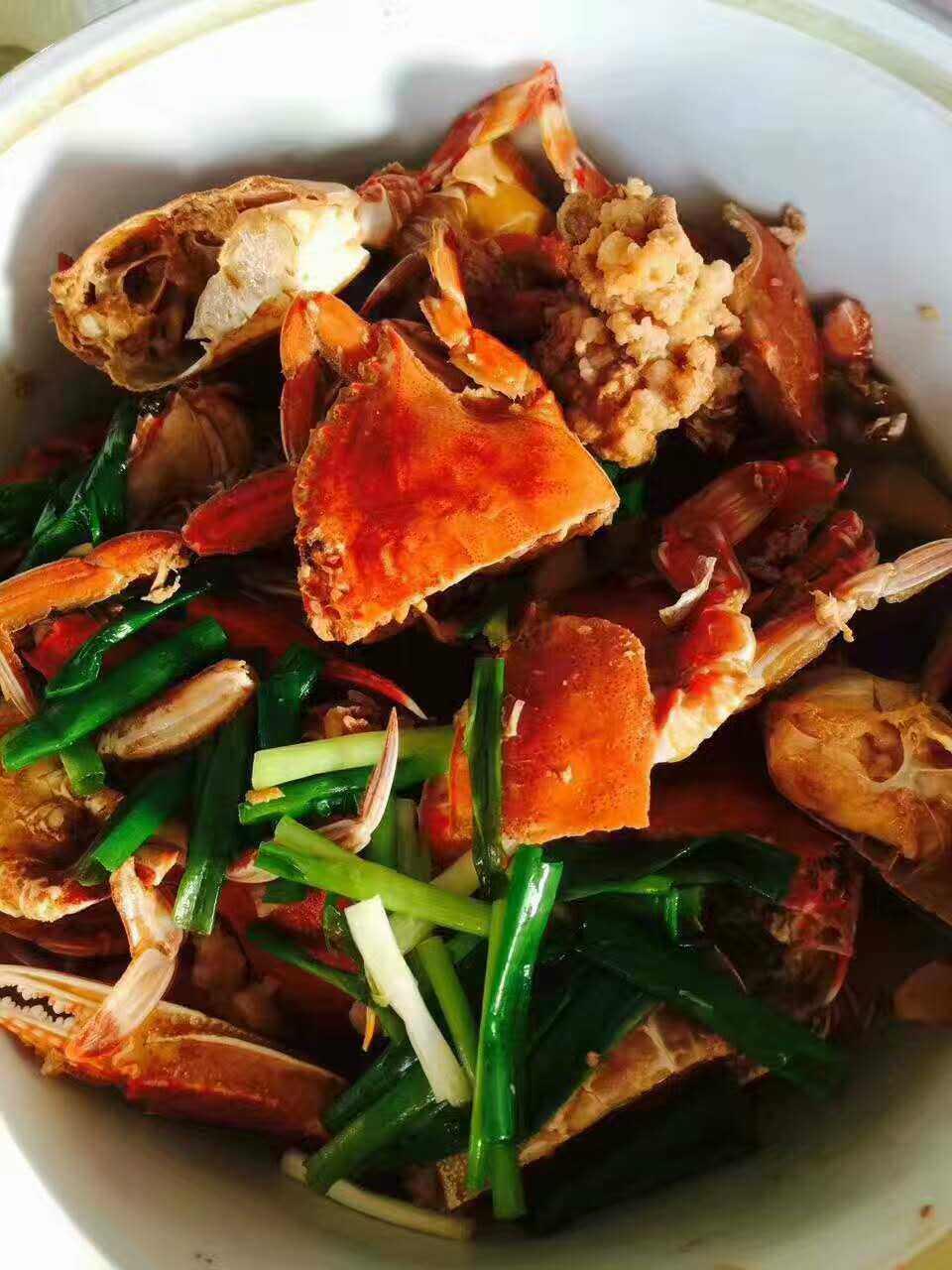 是海里的梭子蟹好吃还是淡水的螃蟹好吃?