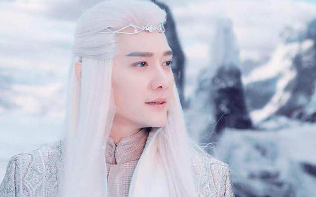 古装四大白发美男:高伟光有气质,马天宇太妖冶,而他最