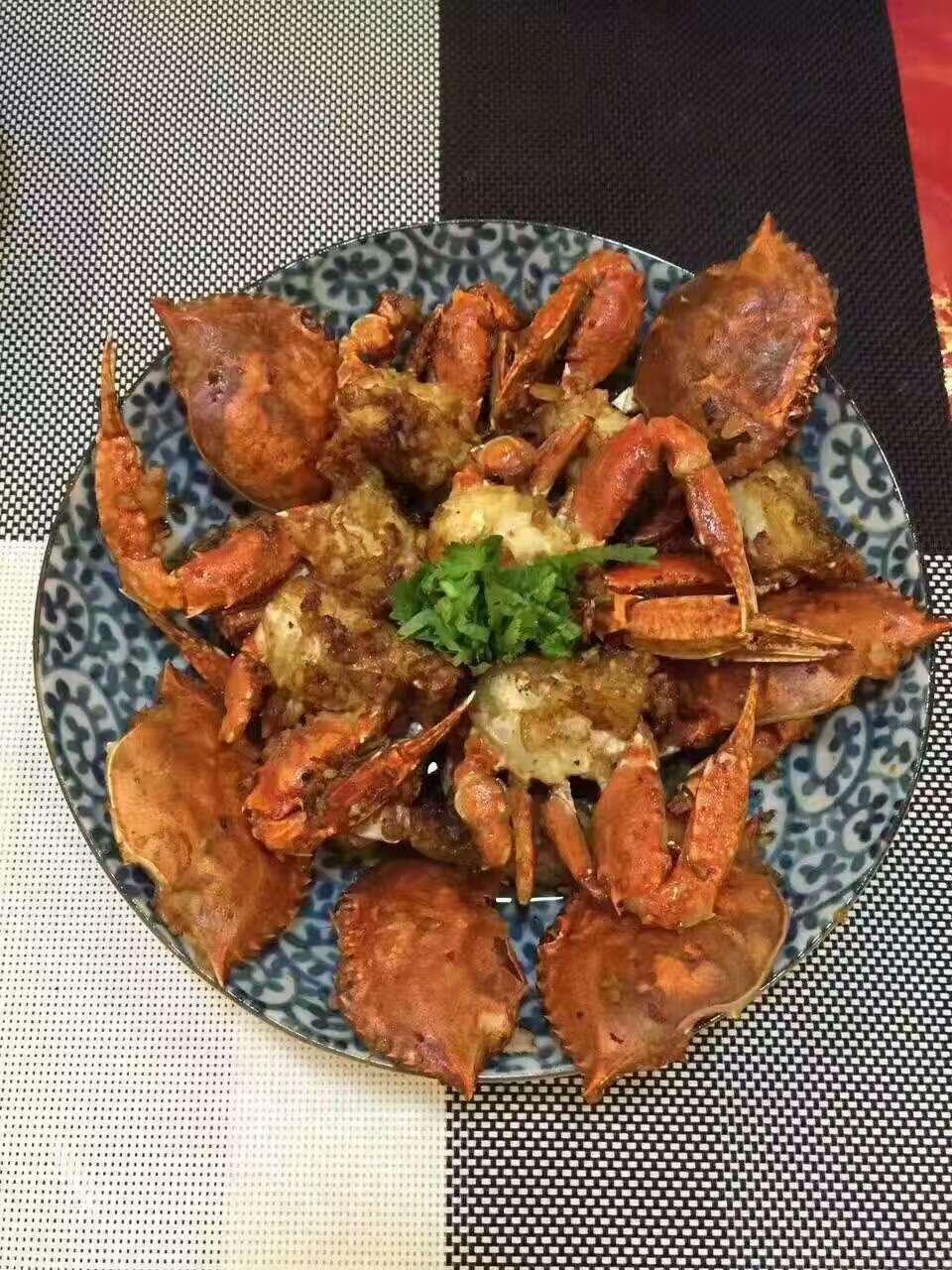 当季的大闸蟹遇到梭子蟹,那就是鲜鲜鲜!_哔哩哔哩... -bilibili