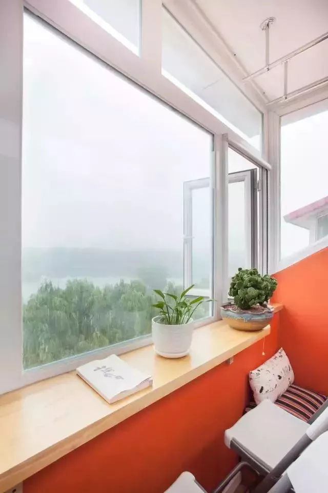交换空间装饰 谁说阳台只能设计洗衣房了?茶室,洗漱区