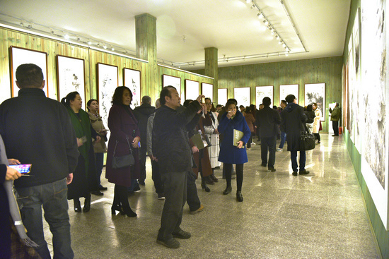 盛世高歌——2018中国画名家作品学术邀请展在京隆重开幕