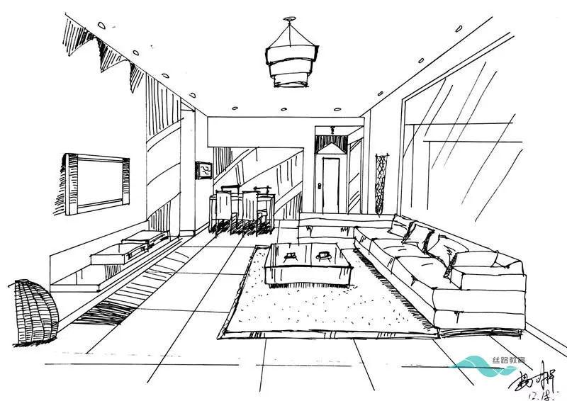 作品展示|学好室内手绘,让创意跃然纸上