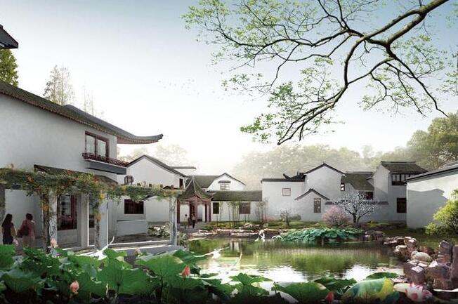 中国园林景观建筑设计特点