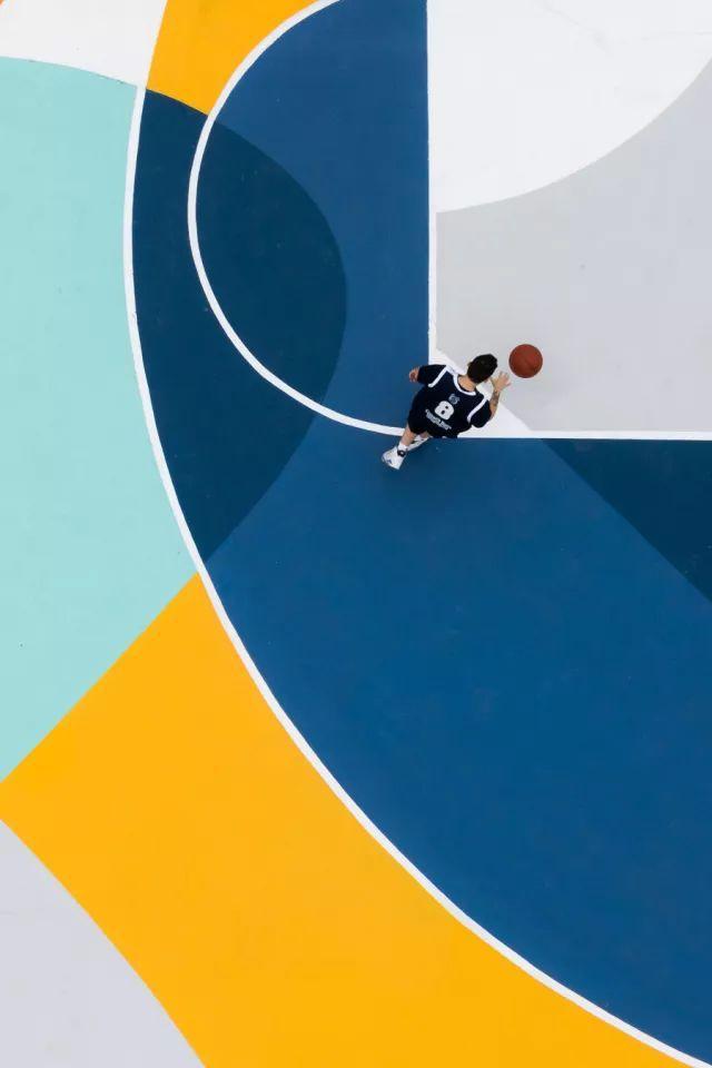 Fun丨篮球场与街头艺术玩跨界,打球秒变养眼运动