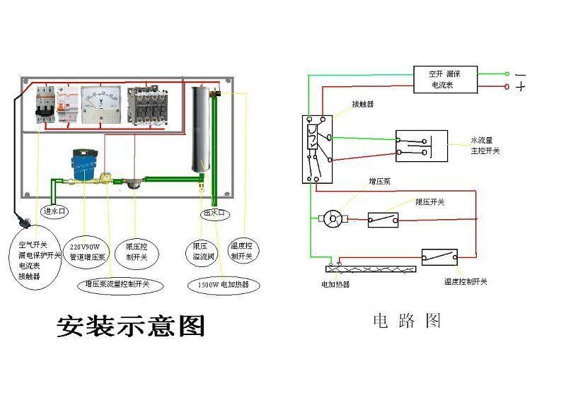 【家电安装】增压泵是什么 家用燃气热水器增压泵安装图片