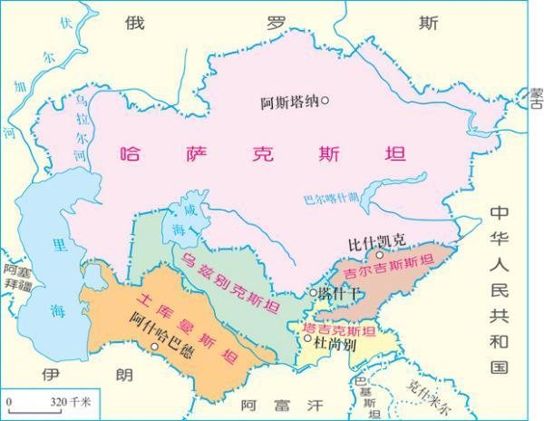 """一,""""突厥化""""和""""伊斯兰化"""":中亚民族史的基本面中亚五国主体民族简介图片"""