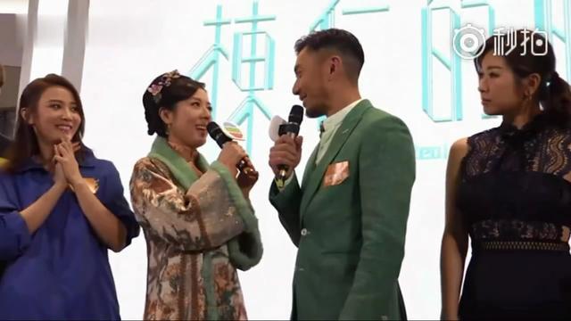 为tvb新剧《栋仁的时光》宣传,唐诗咏主动献吻袁伟豪
