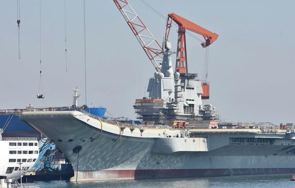 首艘国产航母怎么命名?台湾舰还是山东舰?中国远洋海
