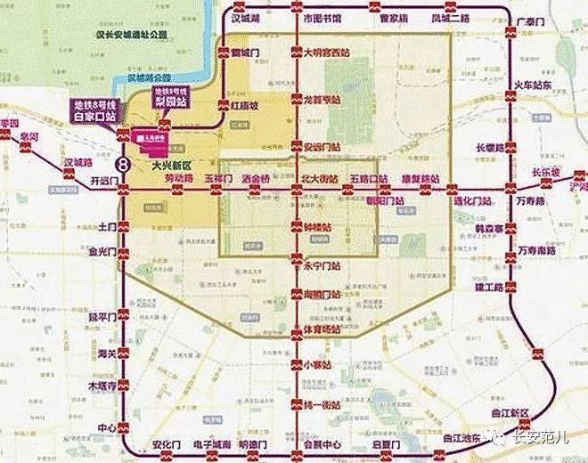 西安雁塔区规划图
