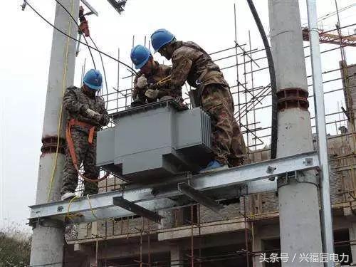 设备选用(大型变压器安装要做施工组织方案);要求双接地扁钢(中性点