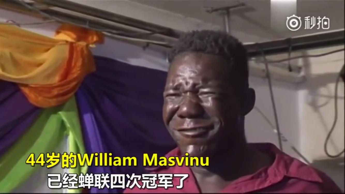 津巴布韦最丑男人, 四届选丑冠军, 被抗议不准参赛
