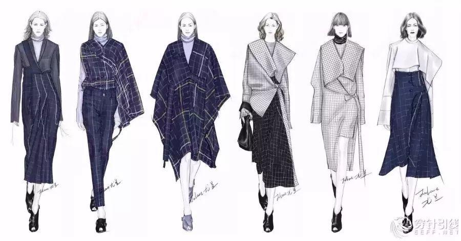 6度空间  女装_时装手绘 | 女装效果图素材资料