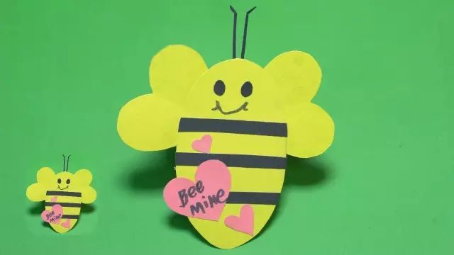 【亲子手工】12款勤劳的小蜜蜂,亲子课不可错过哦!